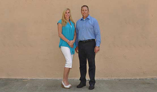 Scott Nolan and his wife - Owners of Quality Auto Repair & Towing